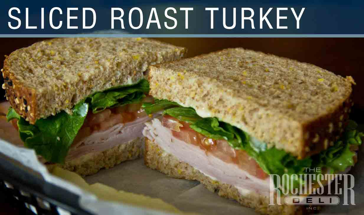 Sliced Roast Turkey